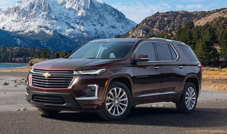 2021 Chevy Traverse Features New Smyrna Beach Chevrolet Dealers