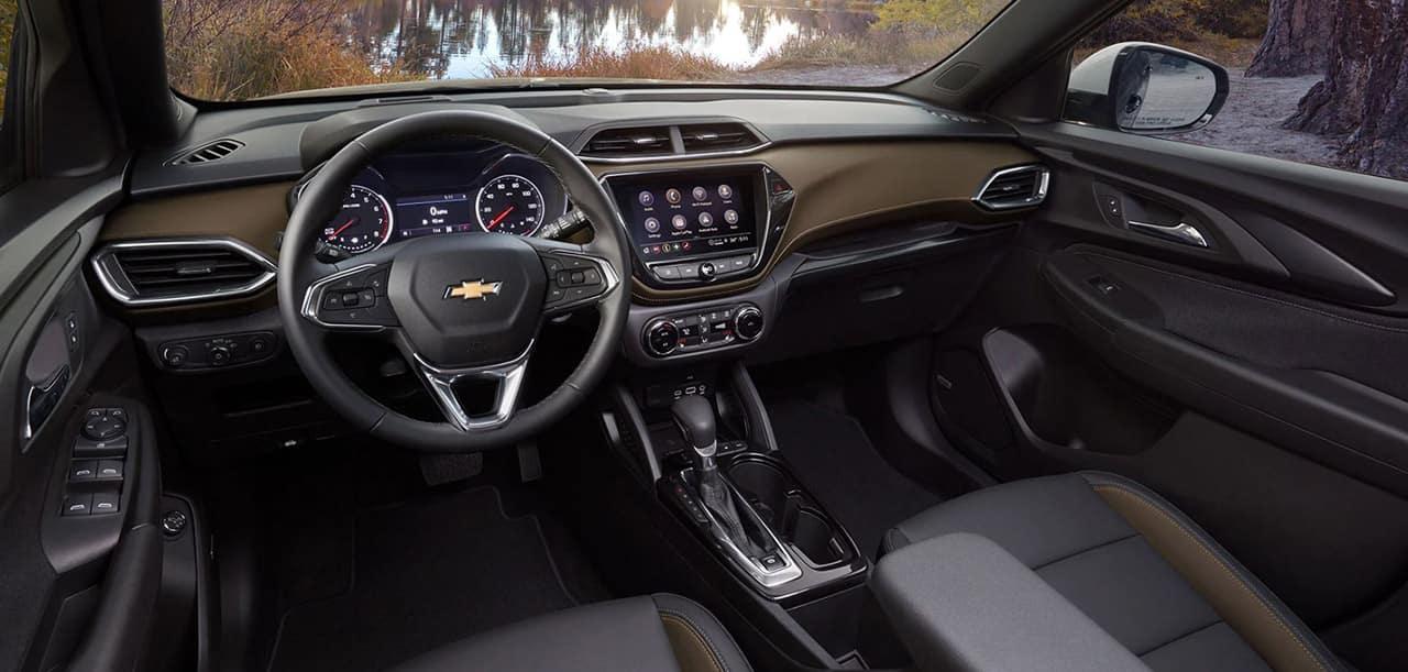 2021 chevy trailblazer interior dash