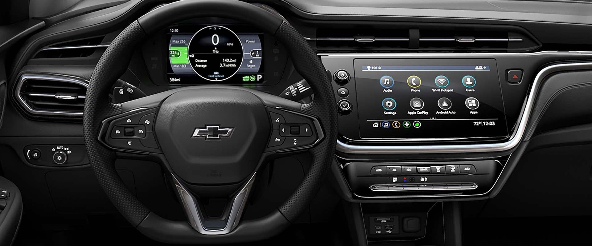 2022 Chevy Bolt EUV interior