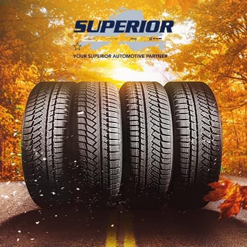 Superior Chrysler Dodge Jeep Ram Tire Sale Promotion In Superior, WI 54880.