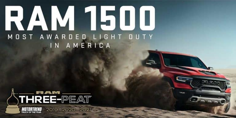 Ram 1500 Most awarded light duty in america