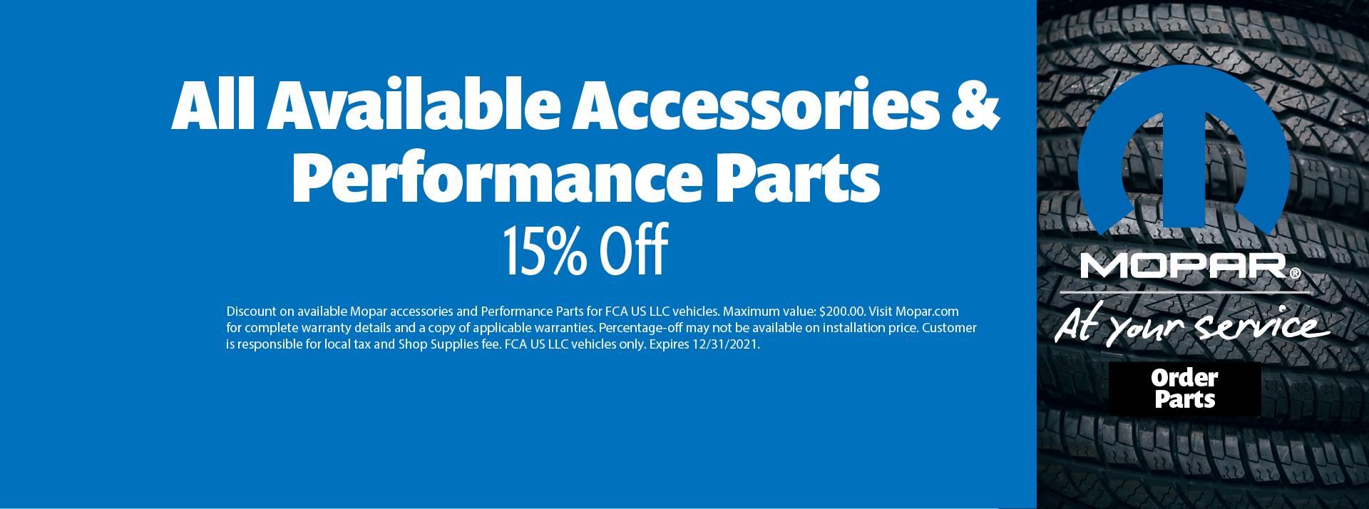parts discount