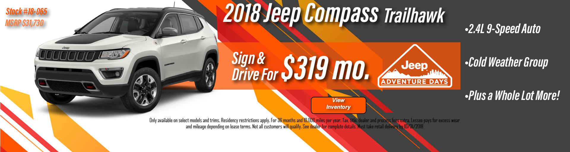 Tanner Motors Jeep Compass