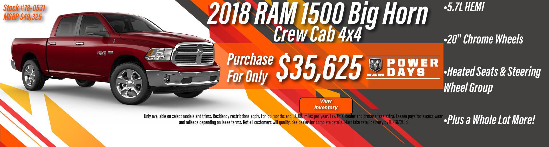 Tanner Motor 2019 RAM 1500