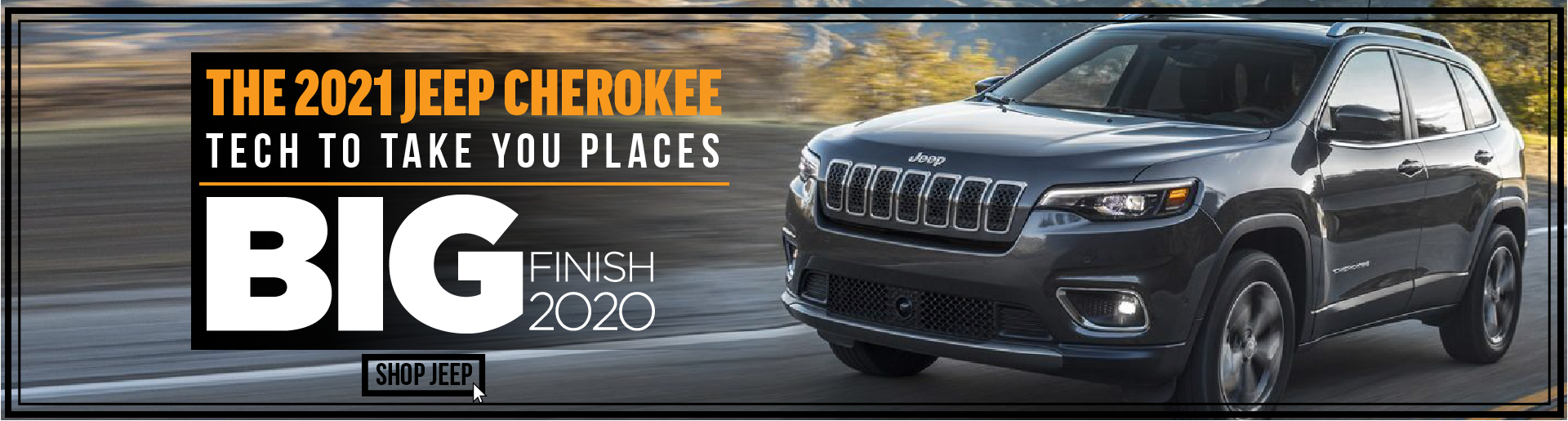 2021 Jeep Cherokee Generic- December 2020