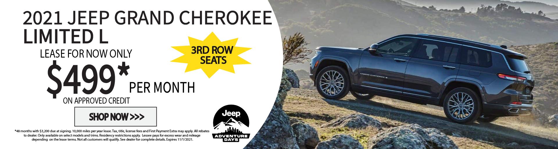 2021 jeep grand cherokee limited l