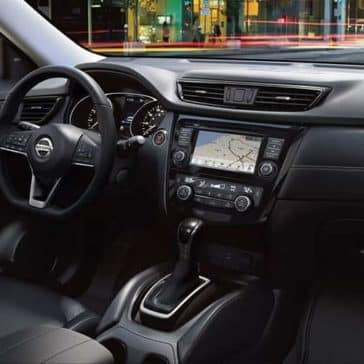2019 Nissan Rogue Interior front seats view