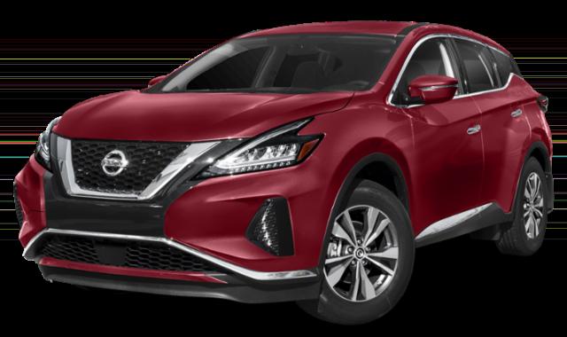 2019 Nissan Murano Red thumbnail