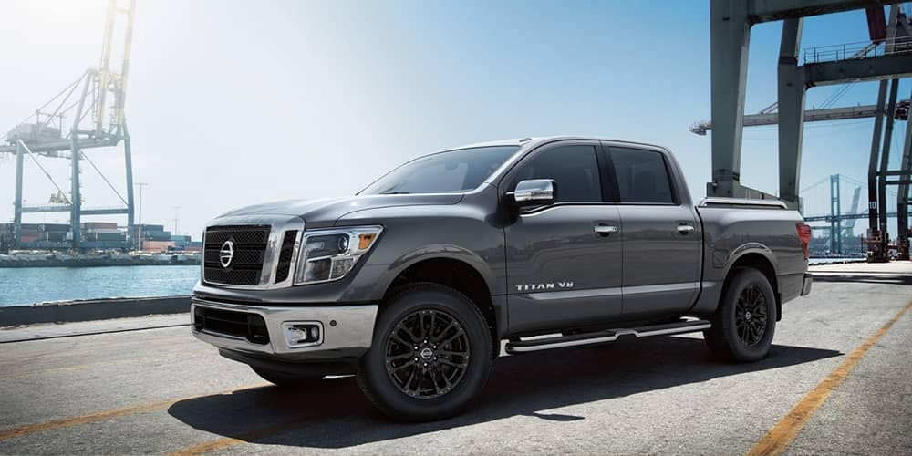 2019 Nissan Titan In Shipyard