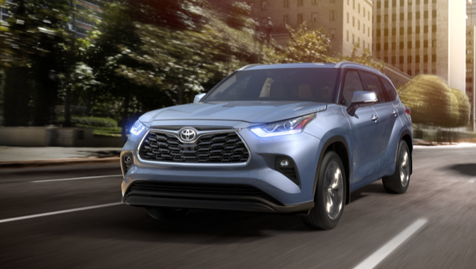 2020 Toyota Highlander coming to North Kingstown Rhode Island