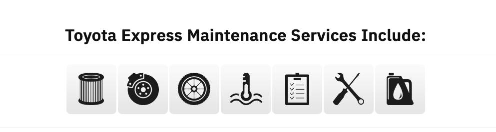 Toyota Express Maintenance near Warwick Rhode Island