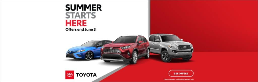Toyota Summer Starts Here in North Kingstown, Rhode Island
