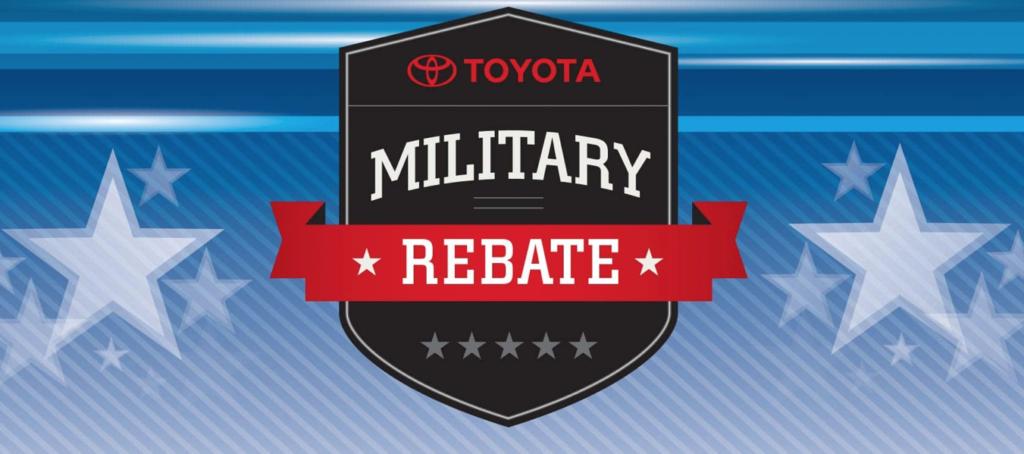 Toyota Military Rebate near Warwick RI