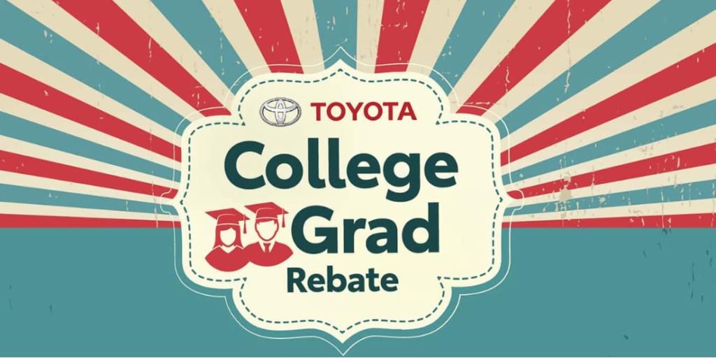 Toyota College Graduate Rebate near Warwick RI