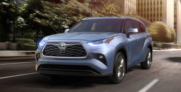 Sneak Peak 2020 Toyota Highlander near Providence RI