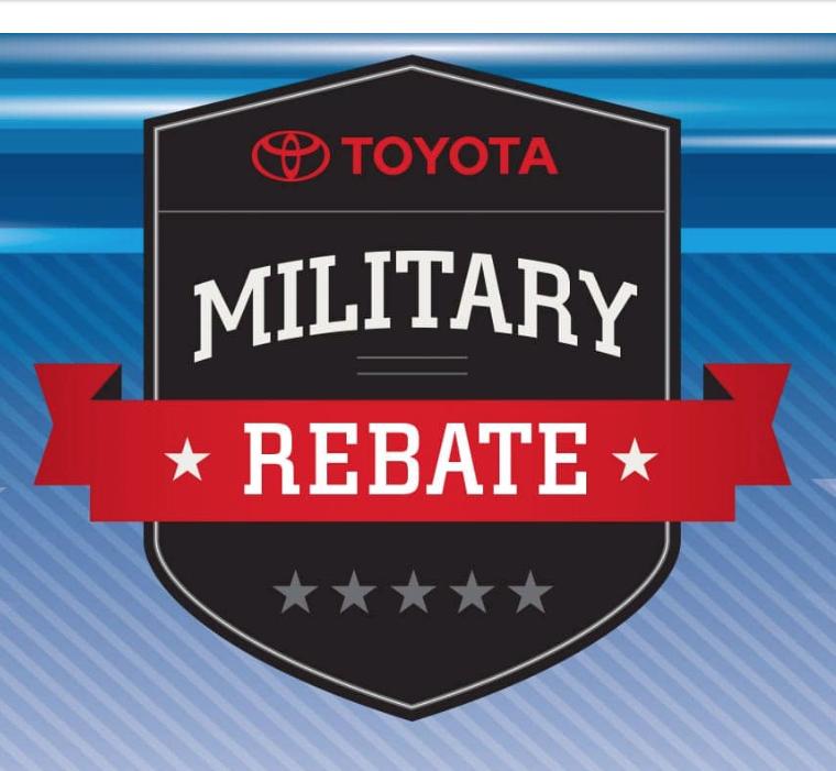 Toyota Military Rebate near Providence RI