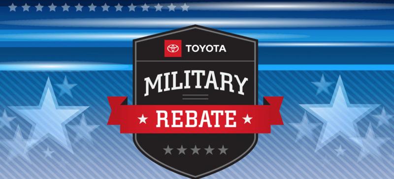 Toyota Military Rebates near Warwick RI