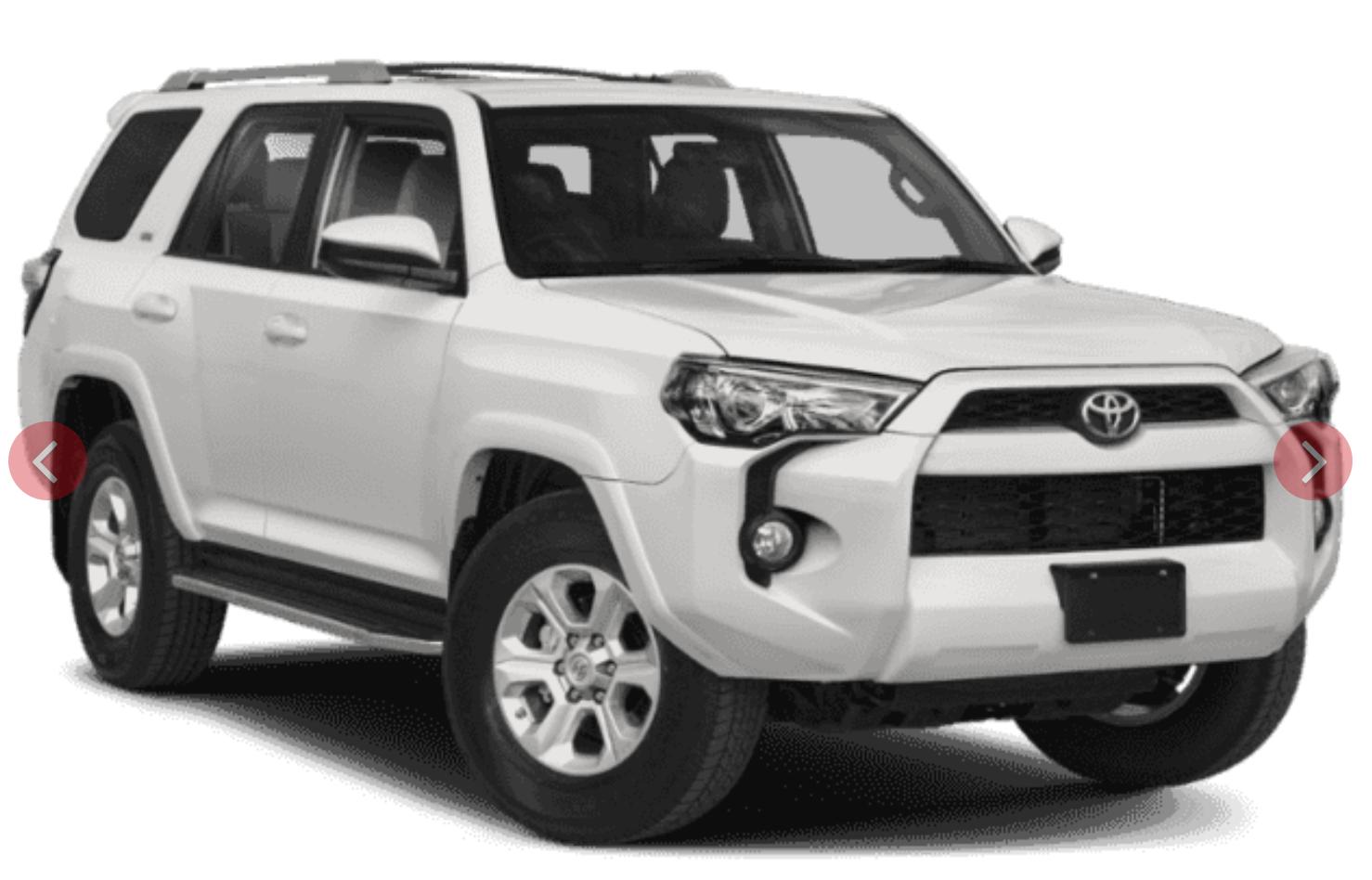 Where can I lease the 2020 Toyota 4Runner near Warwick RI