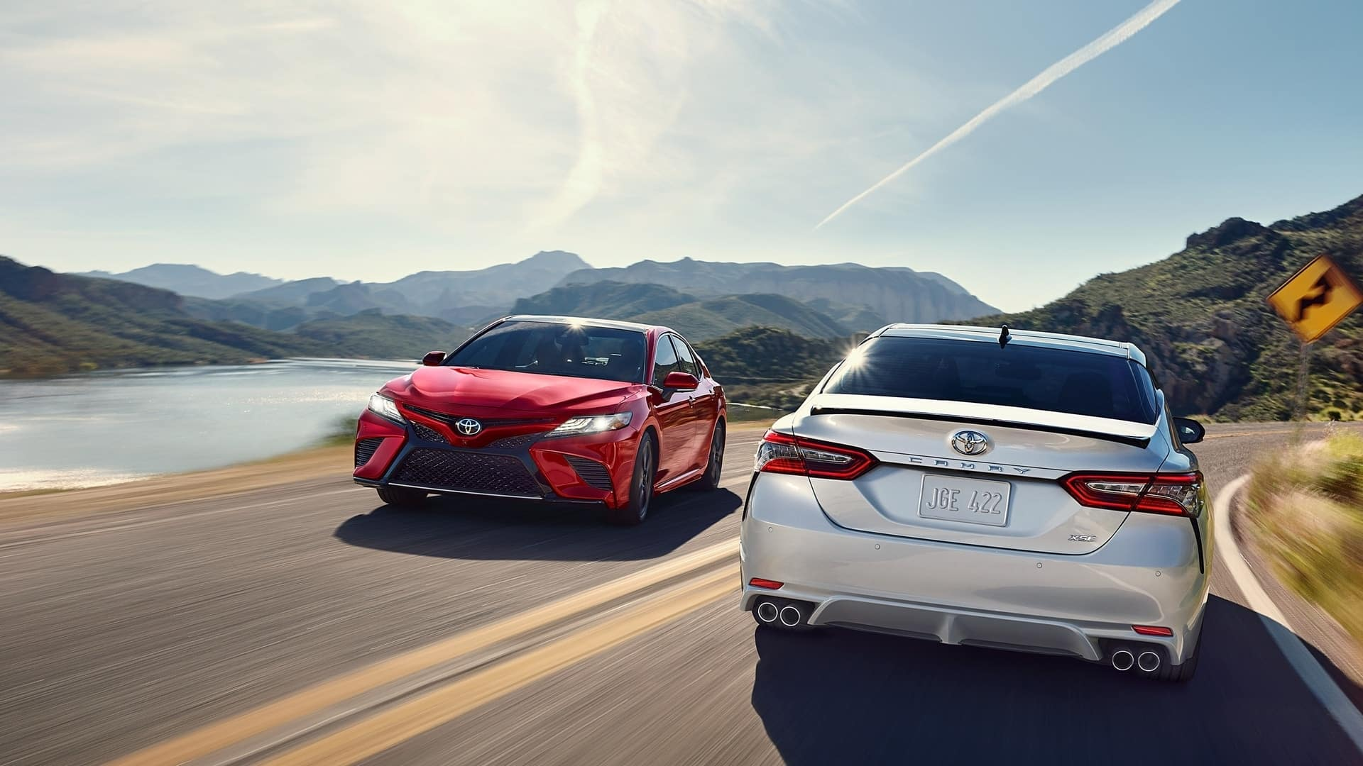 Test drive the 2020 Toyota Camry near South Kingstown RI
