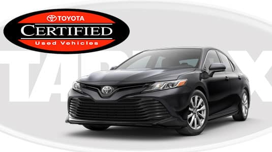 0% Toyota Certified Camry Financing Offer