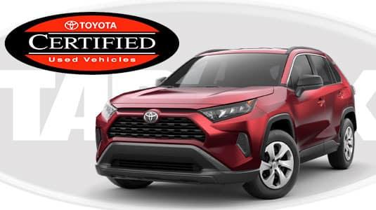 0% Toyota Certified Rav4 Financing Offer