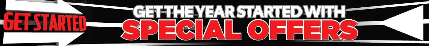 Get the year started with special offers