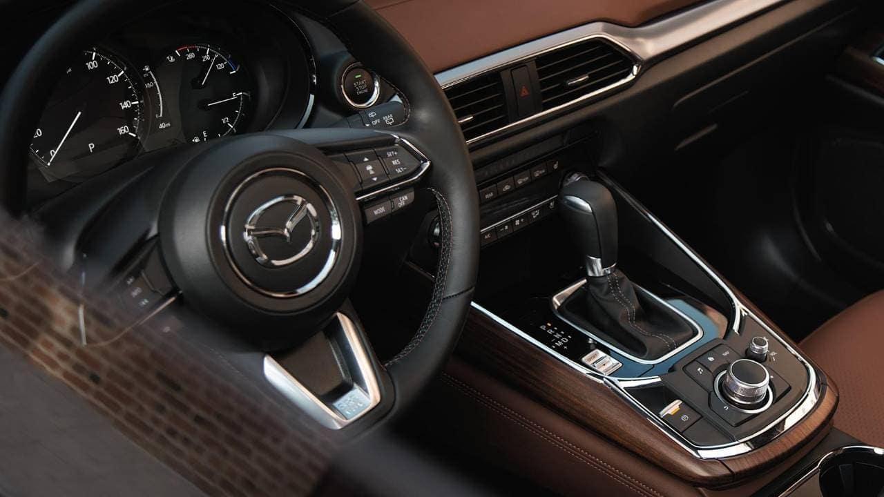 2019 Mazda CX-9 front interior