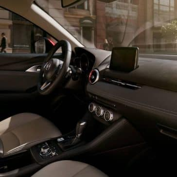 2019 Mazda CX-3 front interior features