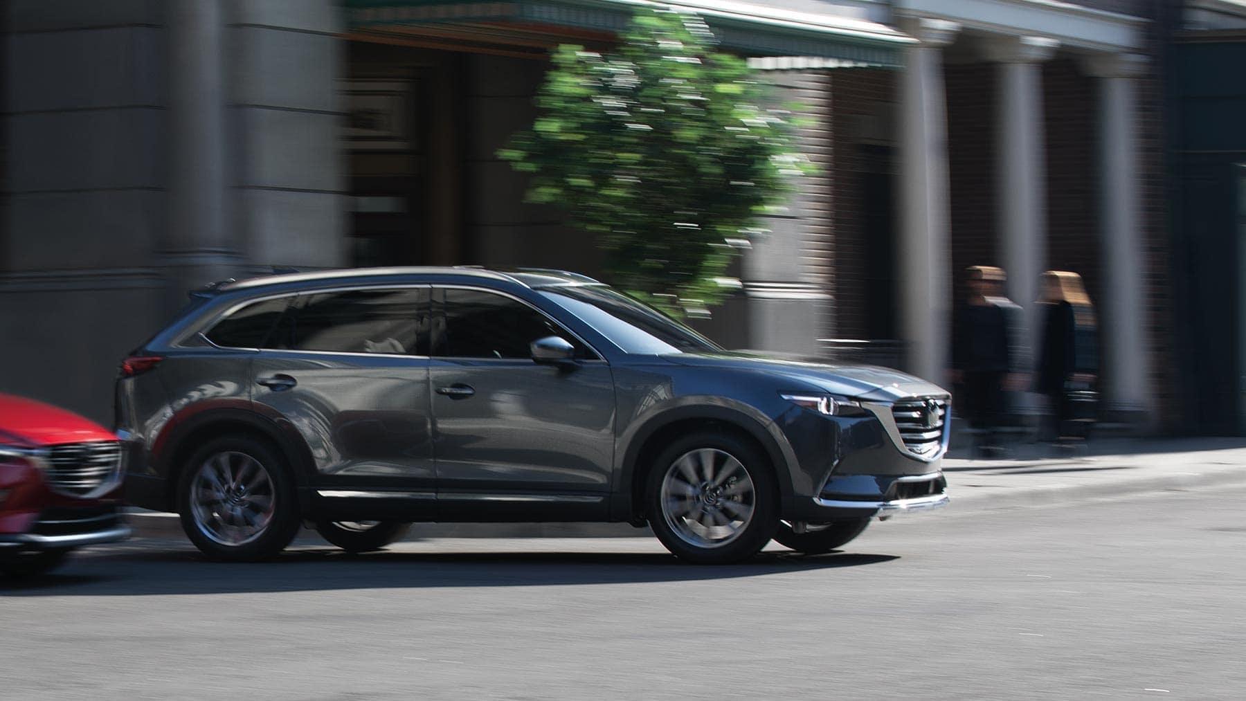 2019 Mazda CX-9 driving down road