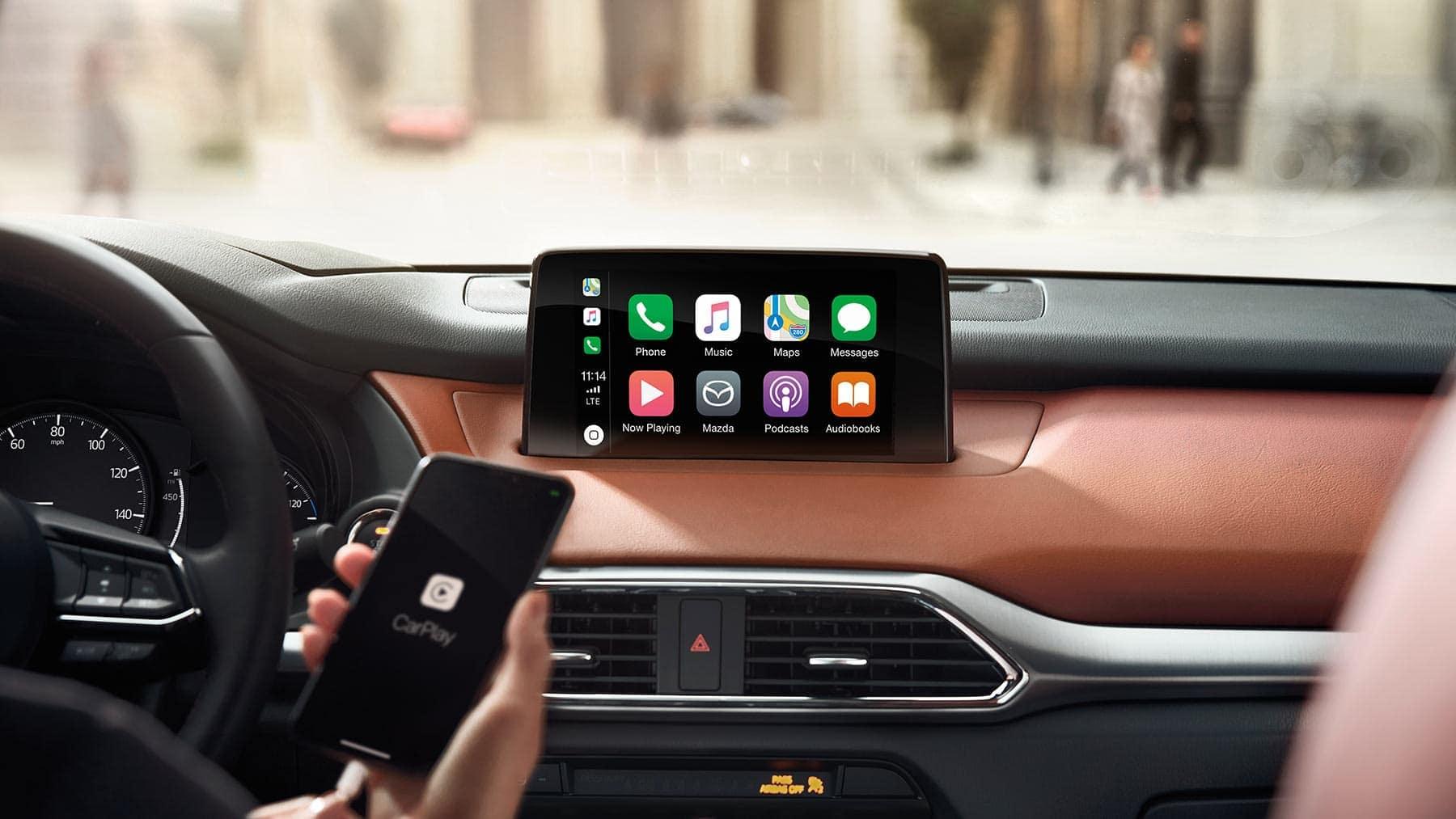 2019 Mazda CX-9 interior dashboard technology