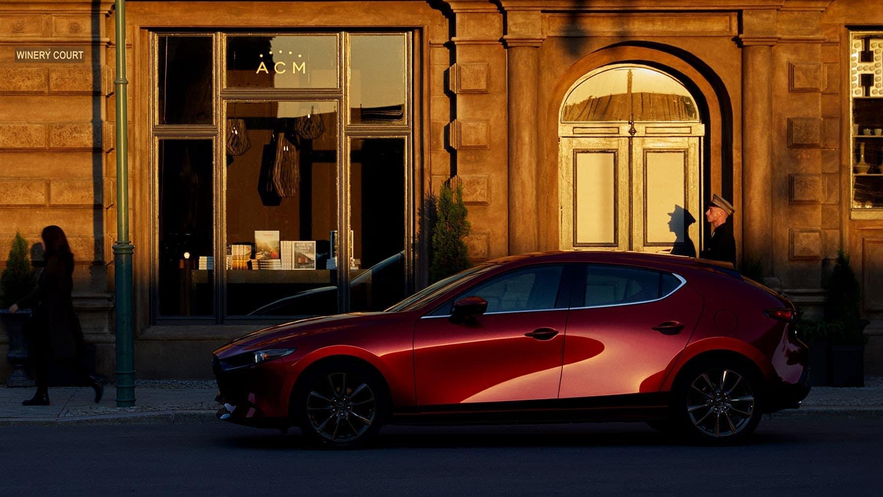 2020 Mazda Mazda3 Hatchback parked