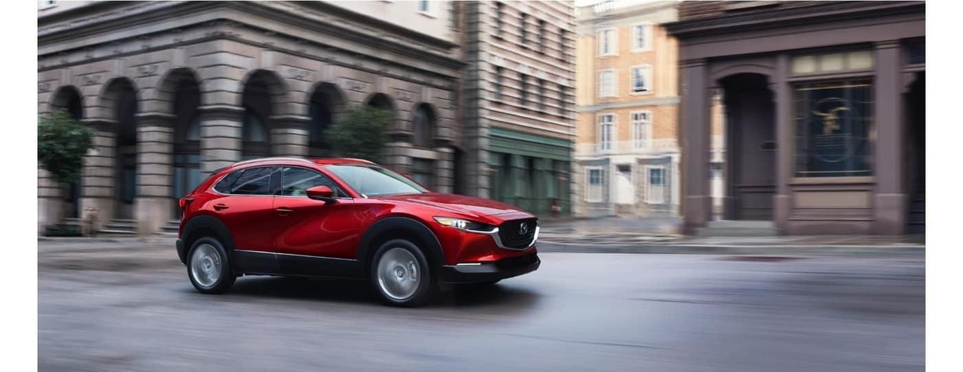 2020 Mazda CX-30 driving