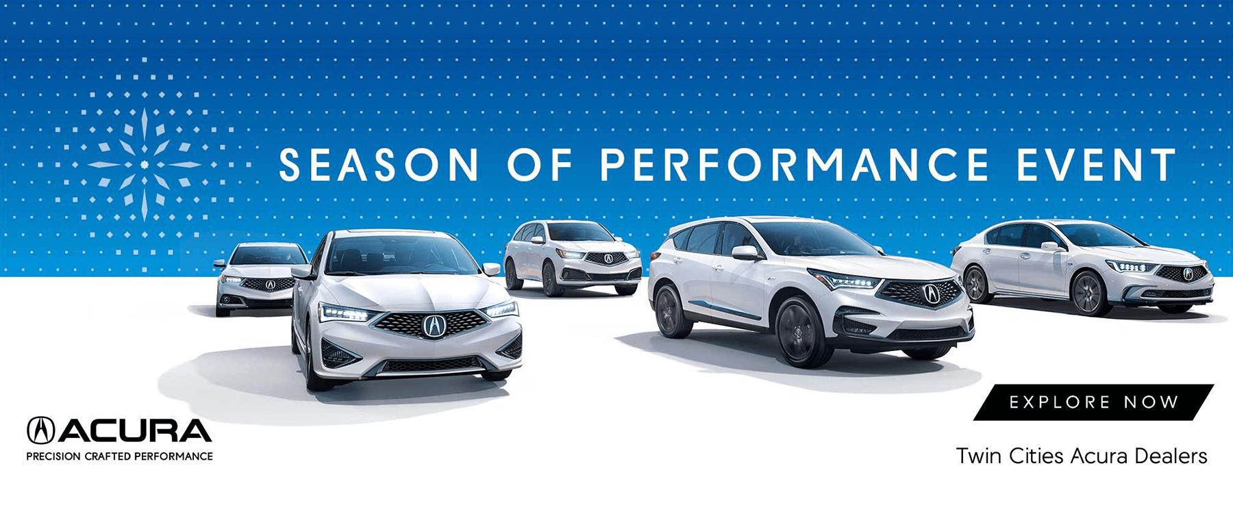 2018 Acura Season of Performance Event