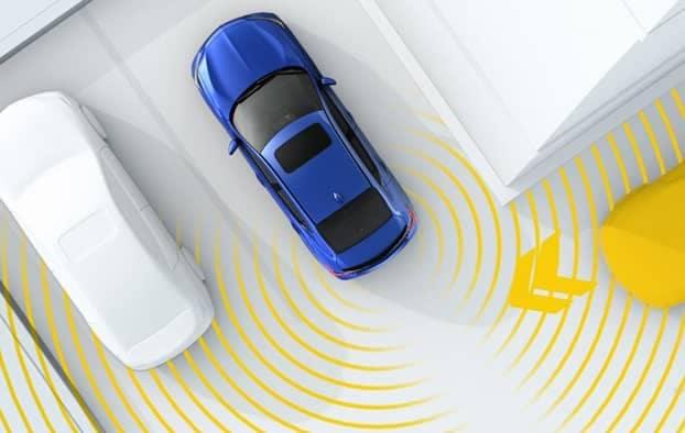 2019 Acura ILX Rear Cross Traffic Alert