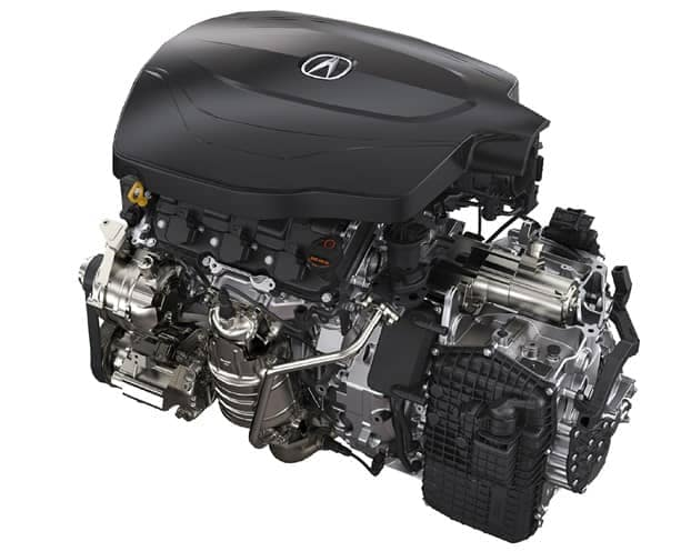 2019 Acura TLX V6 Engine