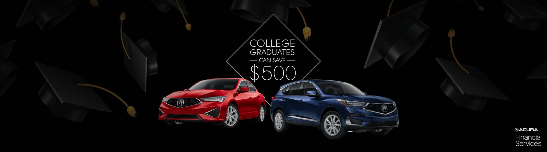 2019 Acura College Graduate Program Slider