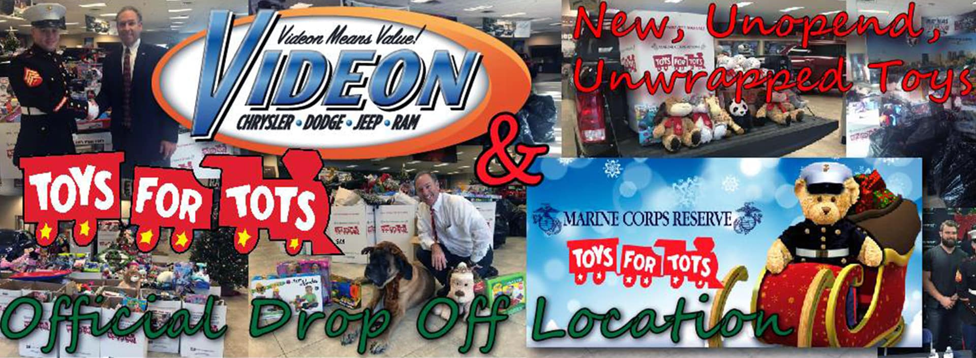 Videon Toys For Tots Drop Off Location
