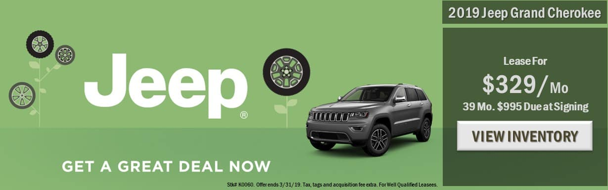 Grand Cherokee Lease - March 2019