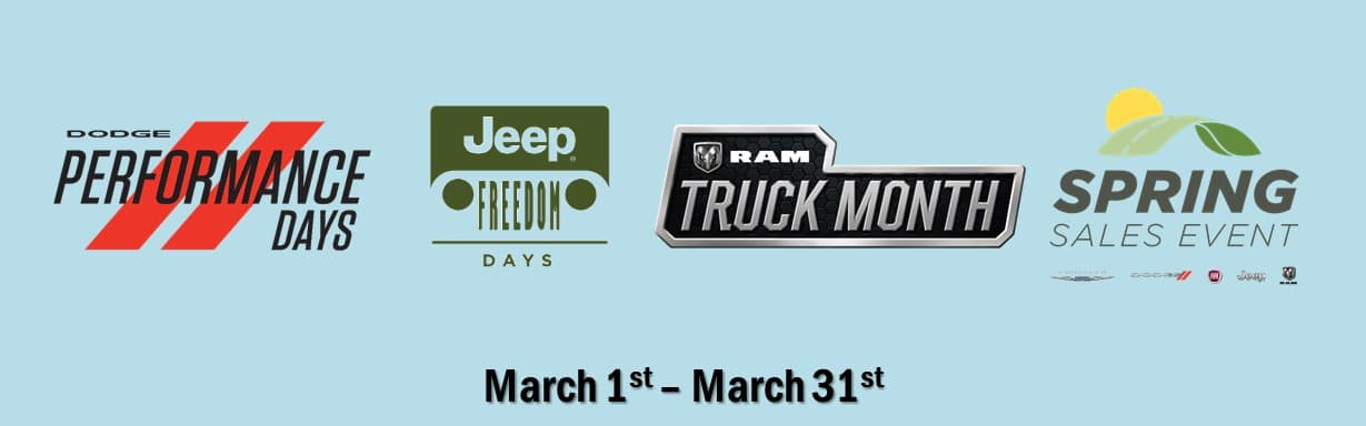 Jeep Sales Events March 2019