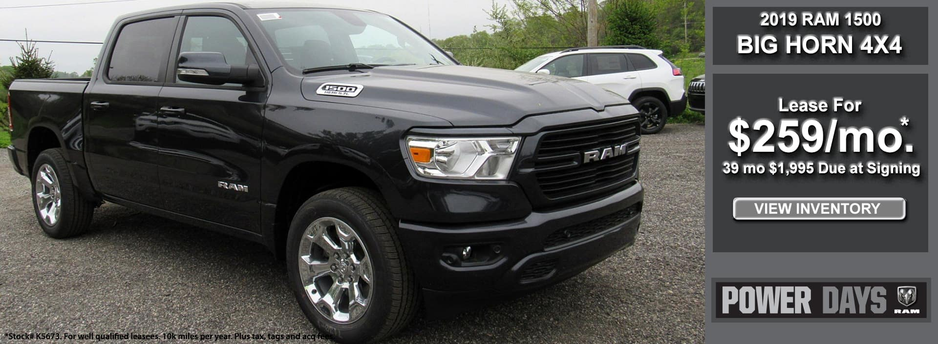 RAM Big Horn Lease October 2019