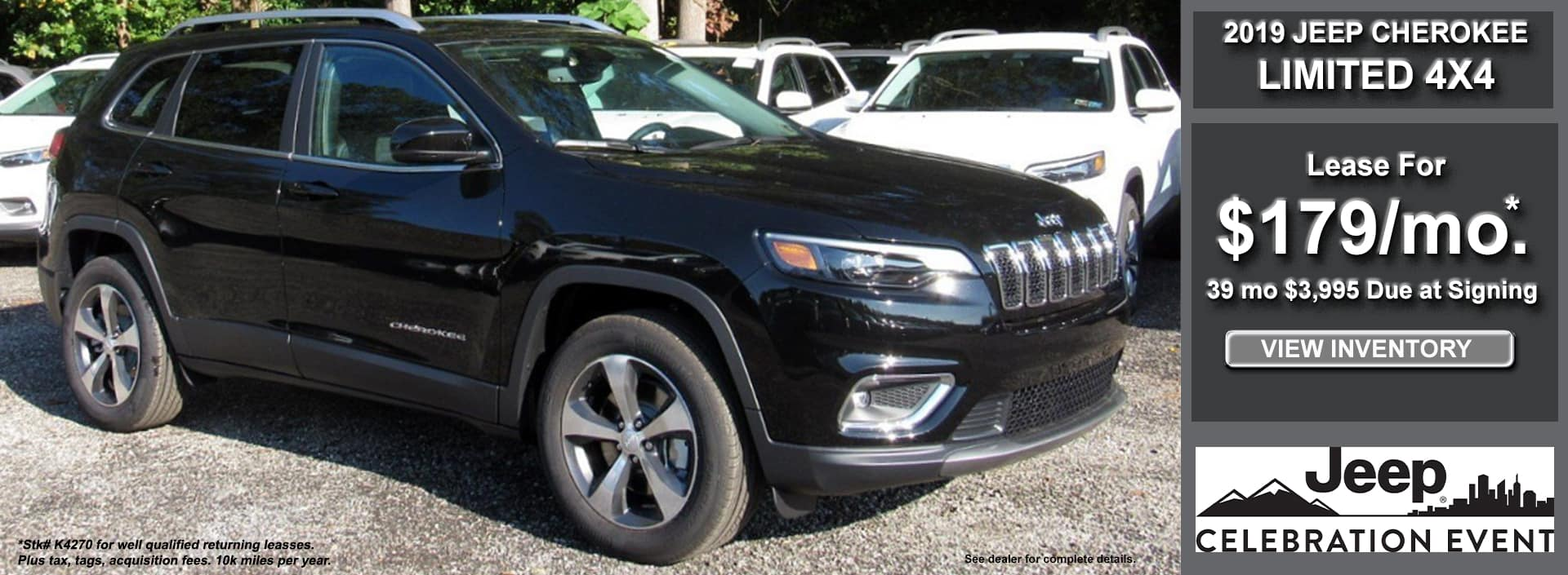 Cherokee Limited Lease May 2019