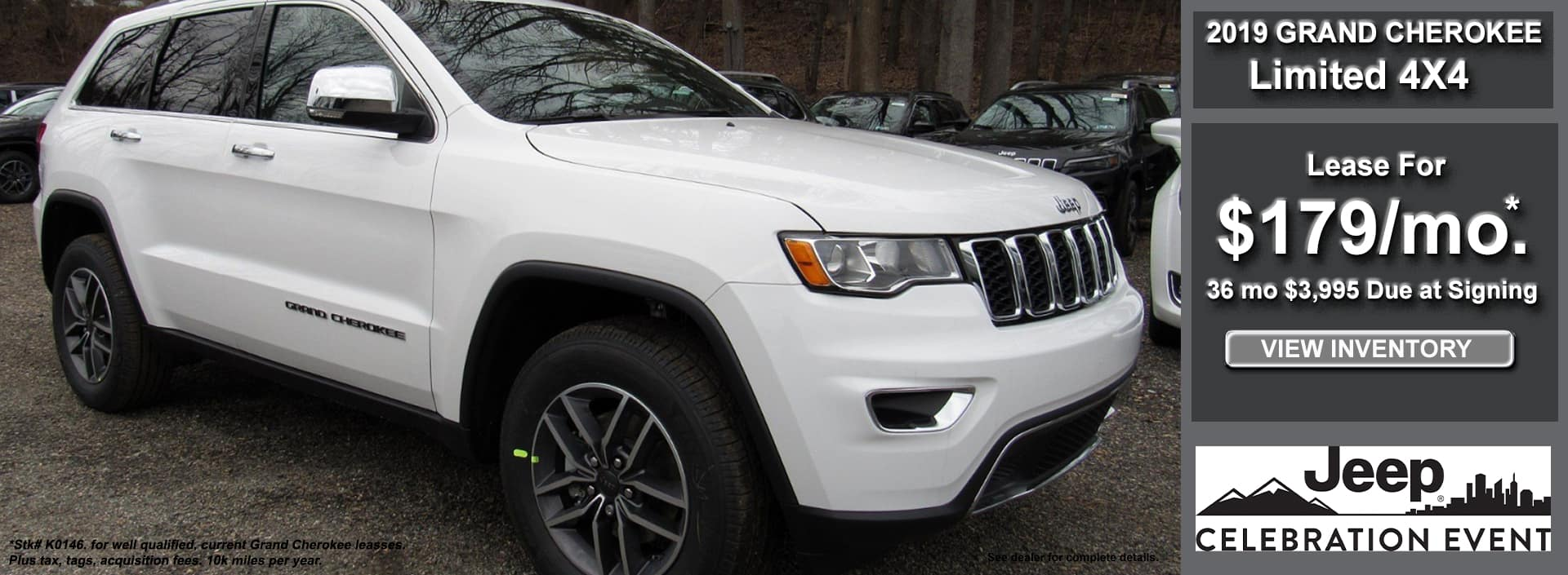 Grand Cherokee Limited Lease May 2019