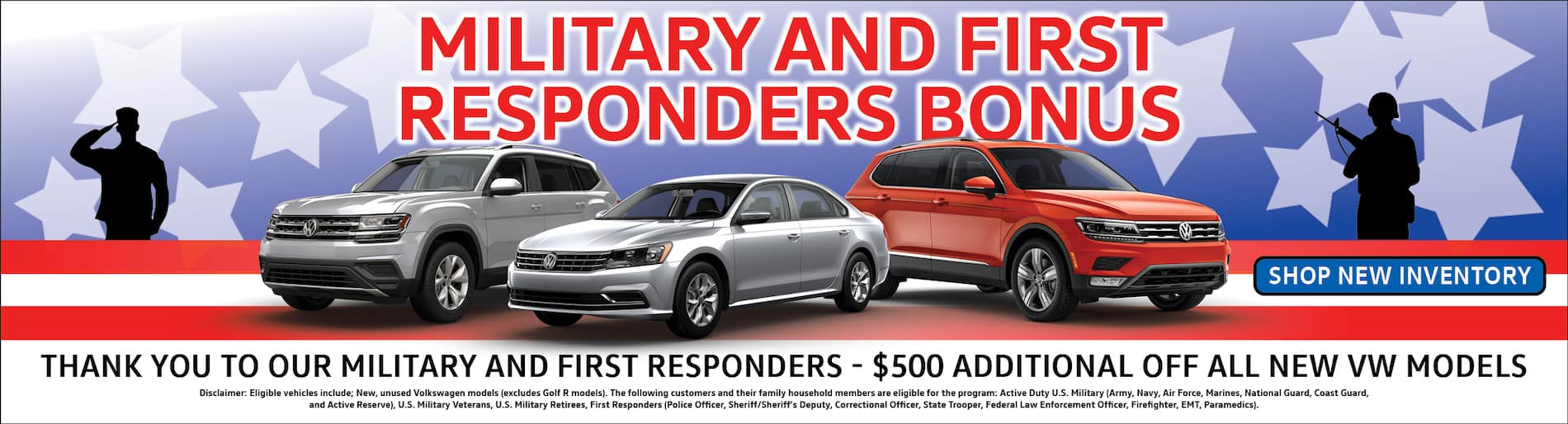 Volkswagen NS Military and first Responders