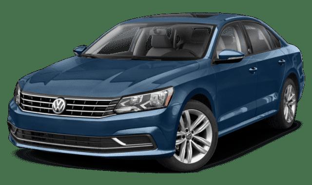 Blue 2019 Volkswagen Passat