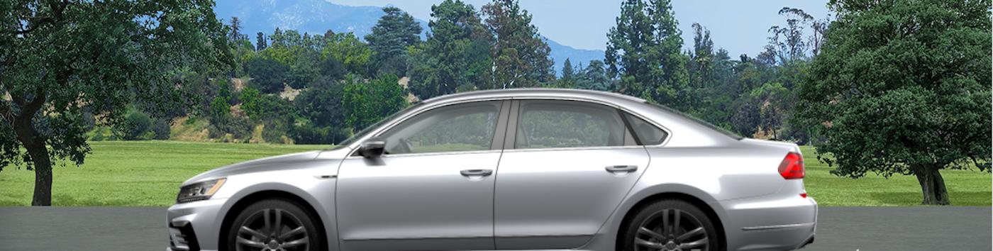 Silver Volkswagen Passat
