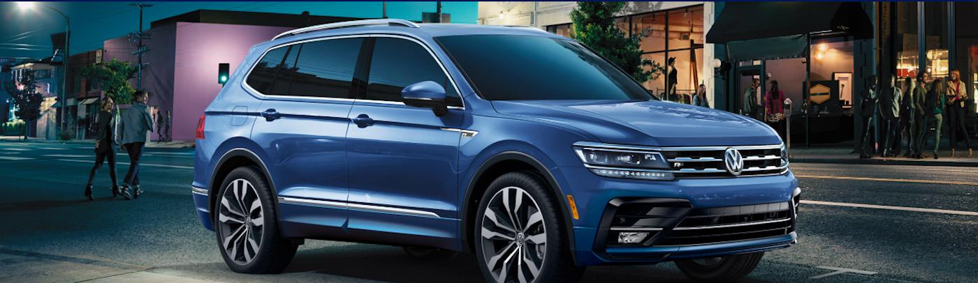 Blue 2020 Volkswagen Tiguan