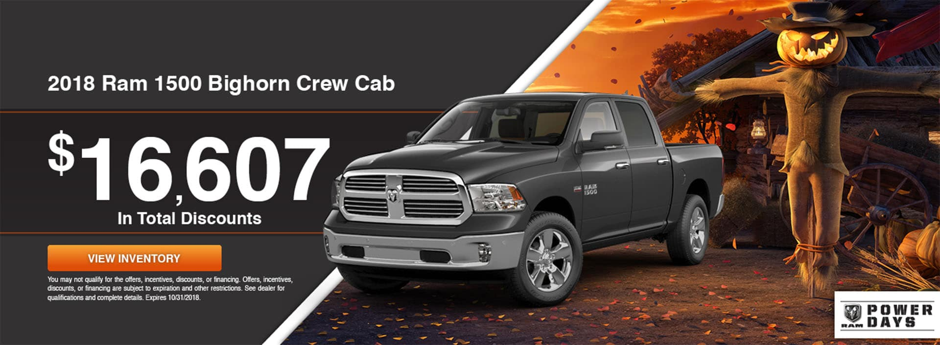 2018 Ram 1500 Bighorn Crew Cab Special at Waseca RAM in Waseca, MN