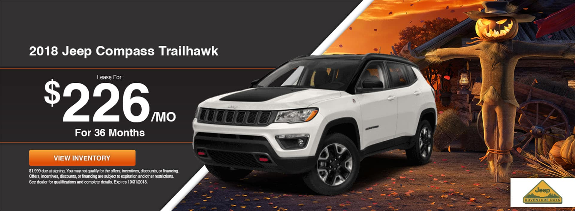 New 2018 Jeep Compass for Sale in Waseca, MN