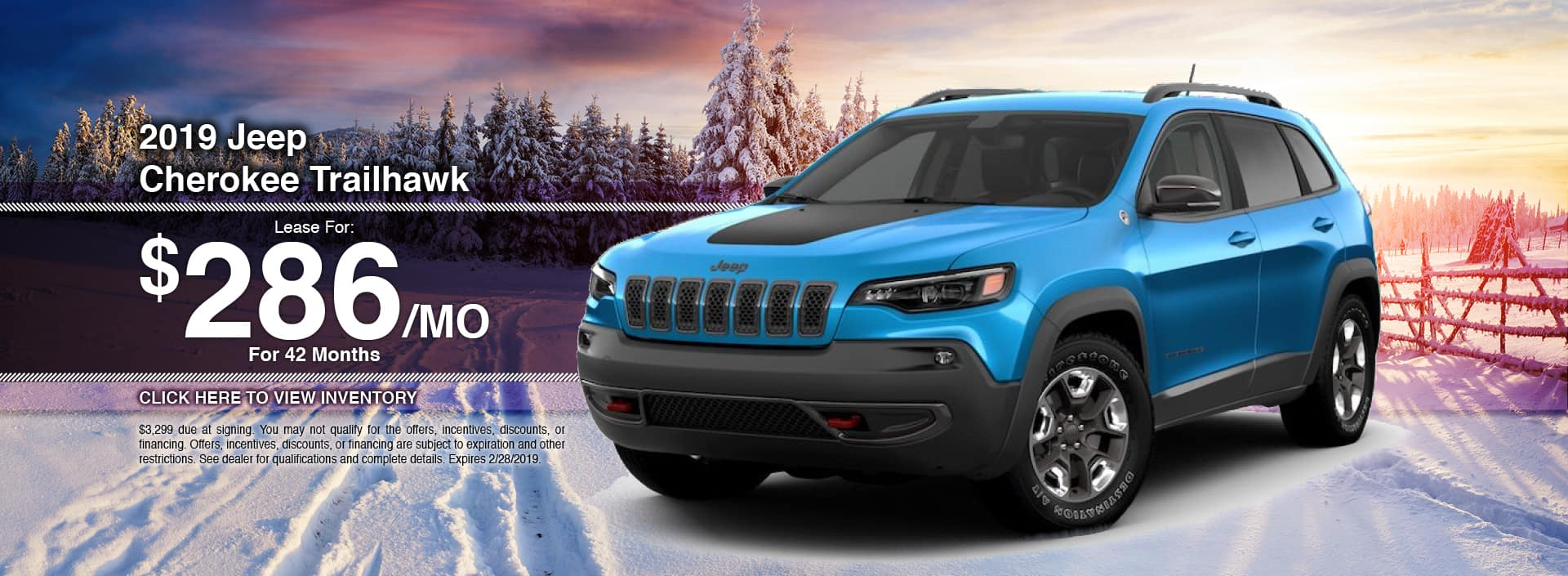 New 2019 Jeep Cherokee for Sale in Waseca, MN