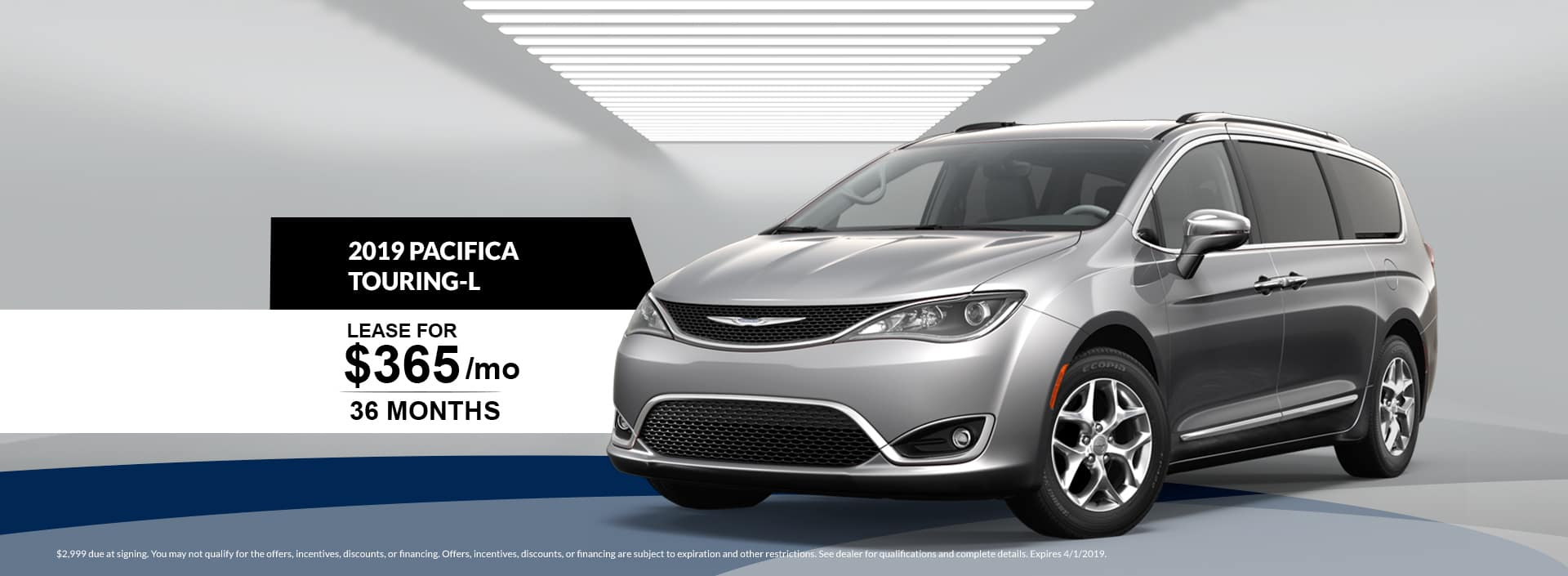 2019 Chrysler Pacifica Touring-L Lease Special at Waseca Chrysler in Waseca, MN